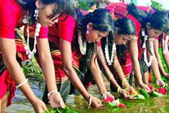 চট্টগ্রামে শেষ হলো ত্রিপুরা সম্প্রদায়ের বৈসাবি উৎসব