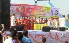 রাজধানীর বিভিন্নস্থানে বাংলা নতুন বছর বরণে বর্ণাঢ্য আয়োজন