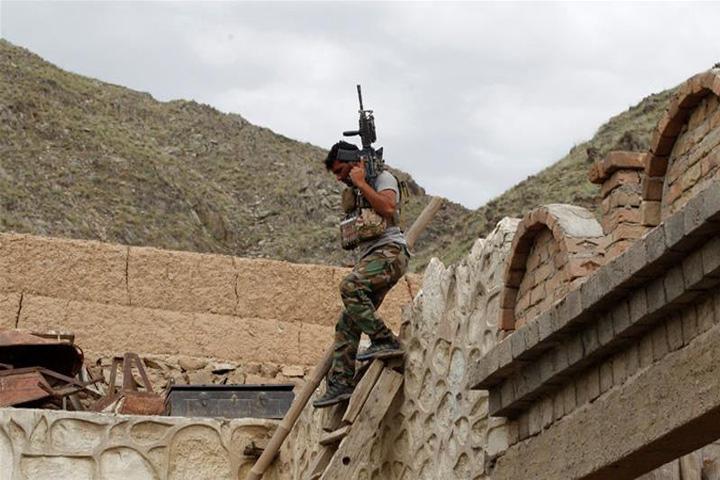 আফগানিস্তানে আইএসের বিরুদ্ধে অভিযানে এক মার্কিন সেনা: ফাইল ছবি