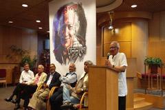 নিউইয়র্কে কবি বেলাল বেগকে `ঘুংঘুর সম্মাননা` প্রদান