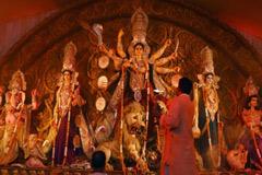 দিল্লির বাঙালিপাড়ার পূজায় বিরিয়ানি চিকেন নিষিদ্ধ