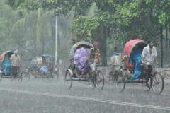 রাজধানীতে ৯৩ মিলিমিটার বৃষ্টিপাত