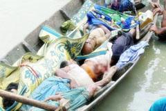 নাফ নদীতে রোহিঙ্গার লাশ ১শ' ছাড়িয়েছে