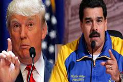 ভেনিজুয়েলায় প্রয়োজনে সামরিক হস্তক্ষেপ : ট্রাম্প