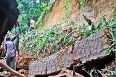 বান্দরবানে ফের পাহাড় ধসে নিখোঁজ কয়েকজন