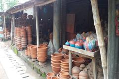 বিলুপ্তির পথে চাঁপাইয়ের মৃৎশিল্প