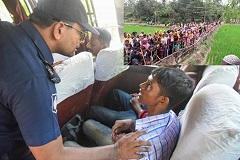 রোহিঙ্গাদের ক্যাম্পে, স্থানীয়দের বাড়ি ভাড়া না দেওয়ার নির্দেশ