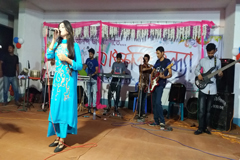 চাঁপাইনবাবগঞ্জ জেলা পুলিশের আয়োজনে সঙ্গীতানুষ্ঠান
