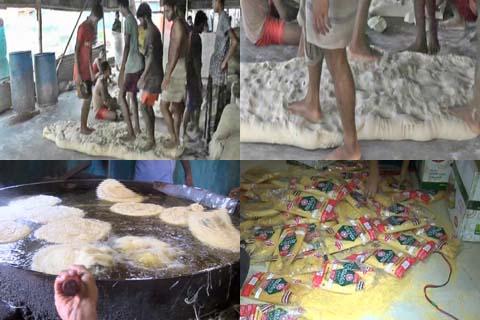 ভেজাল সেমাই তৈরিতে ব্যস্ত অসাধু ব্যবসায়িরা