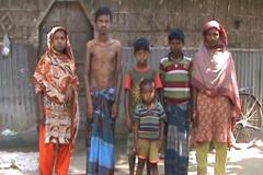 রংপুরে এক পরিবারে ৬সন্তানের মধ্যে ৫জনই থ্যালাসামিয়া রোগে আক্রান্ত