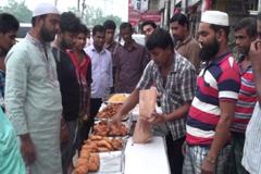 সরগরম গাজীপুরের বিভিন্ন ইফতার বাজার