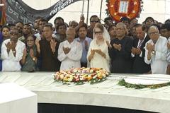 জিয়াউর রহমানের শাহাদাৎ বার্ষিকীতে শ্রদ্ধা জানিয়েছেন বেগম জিয়া