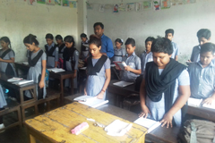 হরিজনপট্টিতে আলো ছড়াচ্ছে 'রাজধানী আদর্শ বিদ্যাপীঠ'