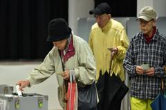 জাপানে জাতীয় নির্বাচনে ভোট গ্রহণ চলছে