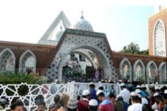 ভোলার আধুনিক ও দৃষ্টিনন্দন নিজাম-হাসিনা মসজিদ