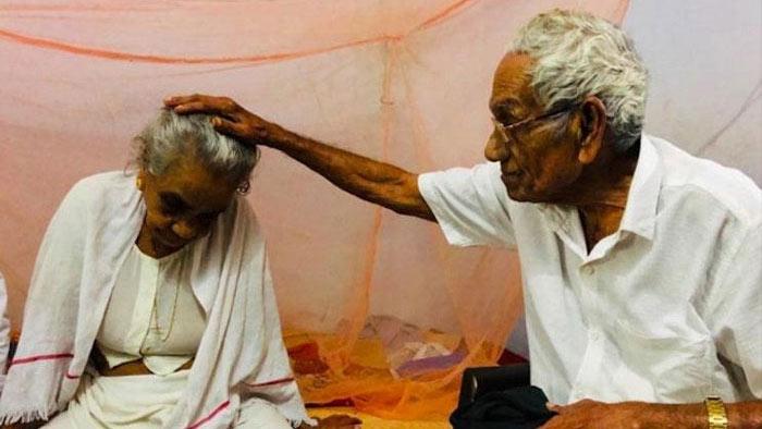 বিচ্ছেদের ৭২ বছর পর স্ত্রীর সঙ্গে আবার দেখা