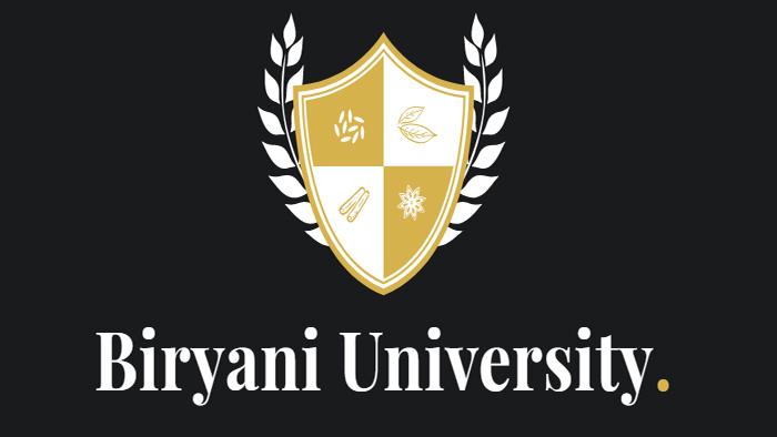 বিরিয়ানি বিশ্ববিদ্যালয়!
