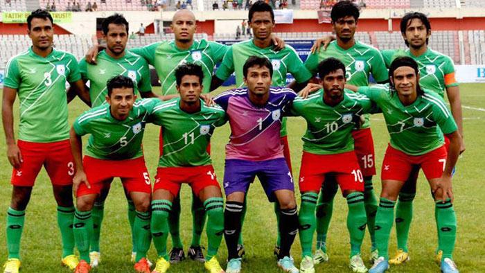 সাফ ফুটবলের জন্য বাংলাদেশ দল ঘোষণা