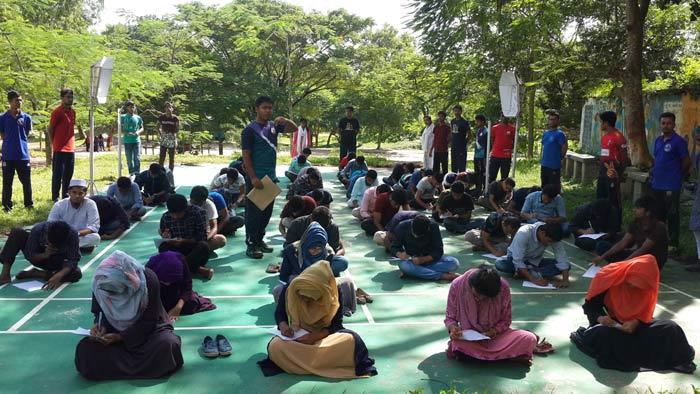 কুমিল্লা বিশ্ববিদ্যালয়ে বিএনসিসির ভর্তি পরীক্ষা অনুষ্ঠিত