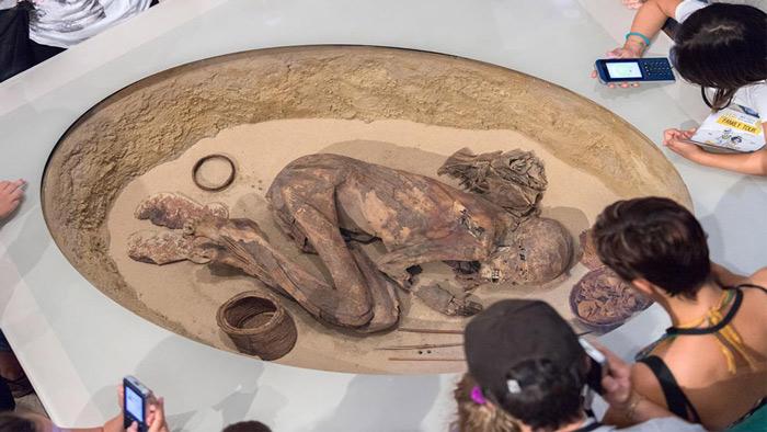 প্রাচীন মমি ঘিরে রহস্য!