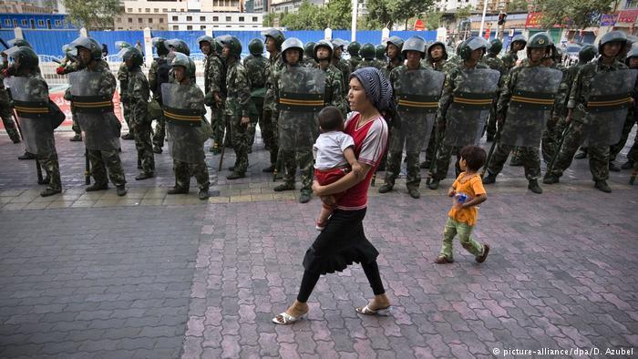 উইগুর মুসলিমদের নির্যাতন: সাফাই চীনা পত্রিকার
