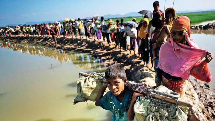 রোহিঙ্গা ইস্যুতে জাতিসংঘের প্রতিবেদন প্রত্যাখ্যান মিয়ানমারের