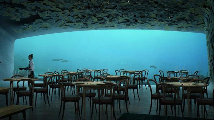 পানির নিচে বিশ্বের সবচেয়ে বড় রেস্টুরেন্ট
