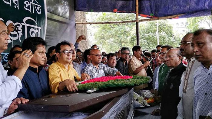 শ্রদ্ধা ভালোবাসায় সিক্ত গোলাম সারওয়ার