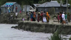 যমুনার তীব্র স্রোতে ৫ কিলোমিটার এলাকায় ভাঙন (ভিডিও)