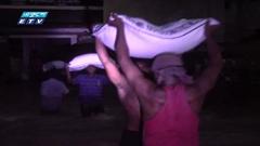 মৌলভীবাজারে পানিতে নষ্ট হচ্ছে ৬শ টন চাল (ভিডিও)