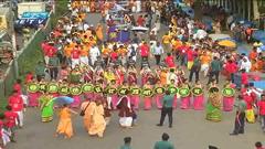 জগন্নাথ দেবের রথযাত্রা অনুষ্ঠিত (ভিডিও)