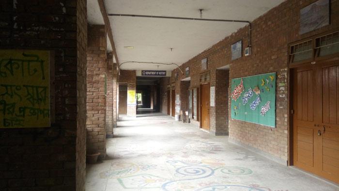 জাবির ইতিহাস বিভাগের শিক্ষার্থীদের ক্লাস-পরীক্ষা বর্জন