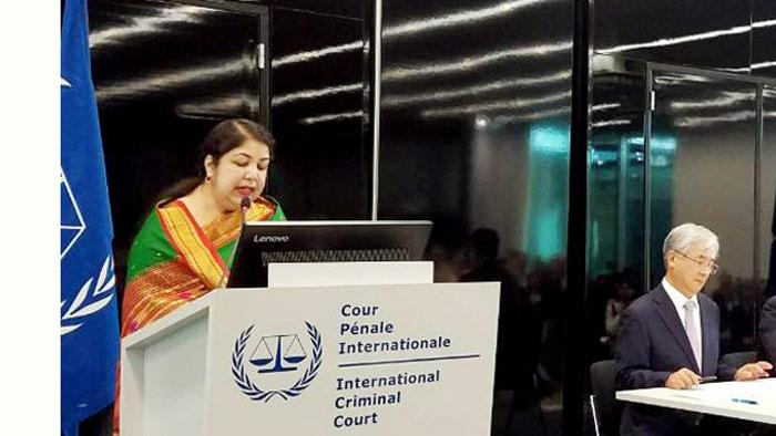 রোহিঙ্গা বিষয়ে বাংলাদেশ আইসিসি'র 'রুলিং' প্রত্যাশা করে: স্পিকার