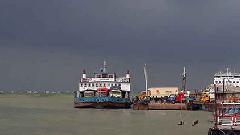 কাঁঠালবাড়ী-শিমুলিয়া রুটে নৌ চলাচল বন্ধ