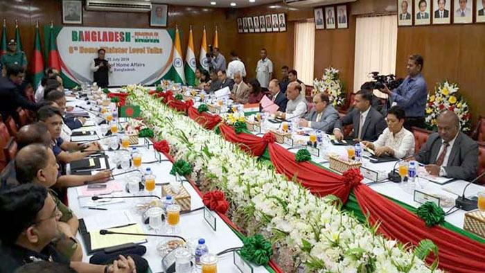 বাংলাদেশ-ভারত স্বরাষ্ট্রমন্ত্রী পর্যায়ের বৈঠক শুরু