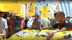 আর্জেন্টিনা ব্রাজিল সমর্থকে বিভক্ত ভারতের কলকাতা