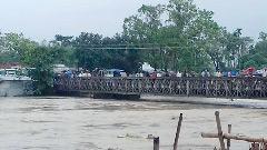 বিপদসীমার ১৫০ সেন্টিমিটার উপরে খোয়াই নদীর পানি
