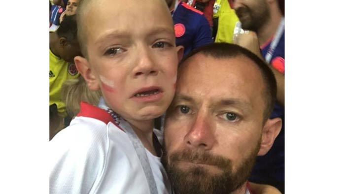 ৬ বছরের ছেলেটি যেভাবে পেল বিশ্বকাপের টিকিট
