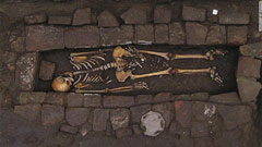 ৫ম শতকের ধ্বংসযজ্ঞের সাক্ষ্য দিচ্ছে কংকাল
