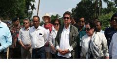 রোহিঙ্গা ক্যাম্পে নিরাপত্তা পরিষদের প্রতিনিধিদল