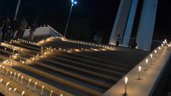 গণহত্যায় নিহত শহীদদের স্মরণে রাবিতে প্রদীপ প্রজ্বলন