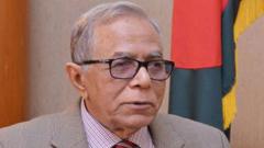 বাংলাদেশ ক্রিকেট দলকে রাষ্ট্রপতির অভিনন্দন