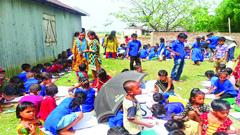 সুনামগঞ্জে স্কুল থেকে বের করে দেওয়া হলো ১৬২ শিশুকে