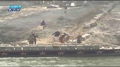 দ্রুত এগিয়ে চলেছে পদ্মার তীররক্ষা বাঁধ নির্মাণ (ভিডিও)