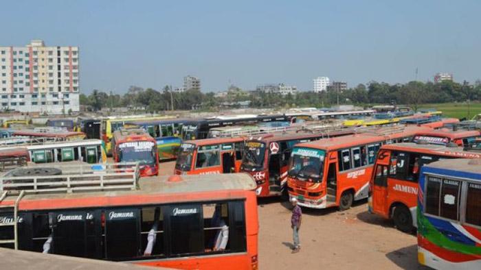 যানজট নিরসনে ঢাকা-চট্টগ্রাম রুটে ধর্মঘট কাল