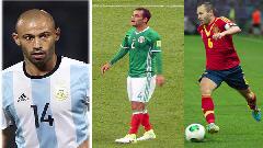 টানা চার বিশ্বকাপ খেলছেন যেসব ফুটবলার