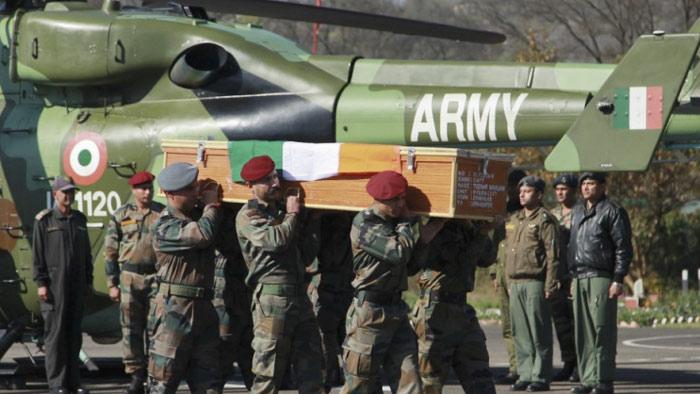 পাকিস্তানি স্নাইপারের গুলিতে ৩ ভারতীয় সেনা নিহত