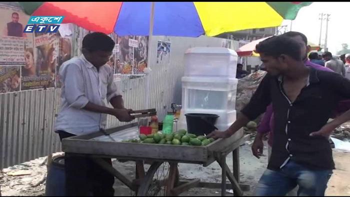 গাজীপুরে যত্রতত্র শরবতের দোকান (ভিডিও)