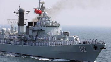 ভারত মহাসাগরে চীনের সাত যুদ্ধজাহাজ