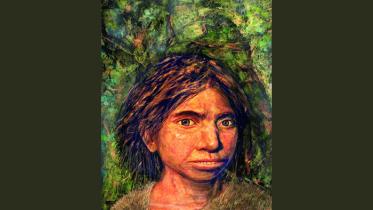 ৭৫ হাজার বছর আগের কিশোরীর মুখাবয়ব